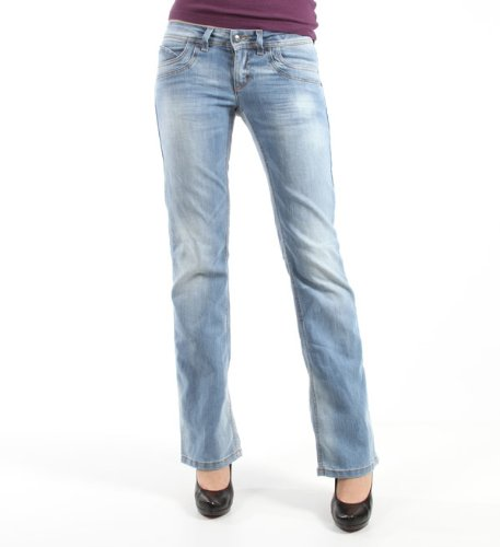 2479a64eb30805 Billig Only Damen Bootcut Jeans Auto Low STR Chiara Jeans, light-denim, Gr.  26/32 Online Kaufen