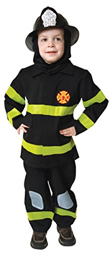 Boys Fire Fighter Kids Child Fancy Dress Party Halloween Costume