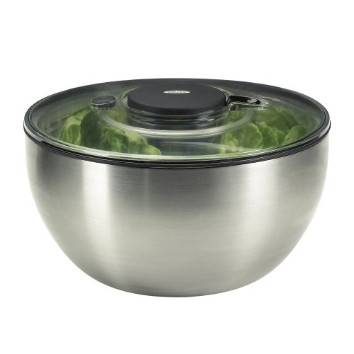 Oxo 1071497 Salad Spinner Stainless Steel