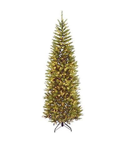 National Tree Company 7.5' Kingswood Fir 350-Light Hinged Pencil Tree