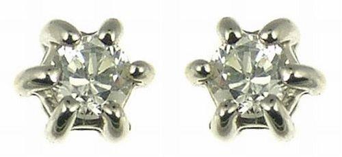 Imagen principal de Boucles d'oreille - Z - ER300DI6/15 - Pendientes de mujer de oro blanco (9k) con diamantes
