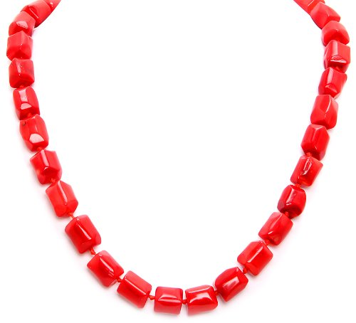Royal Diamond Small Coral Chips necklace