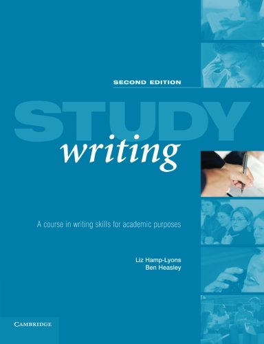 Study Writing: A Course in Written English for Academic Purposes