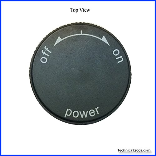 Technics 1200 / 1210 MK2 Power On / Off Knob (CAP ONLY) (Technics Mk2 Turntables compare prices)
