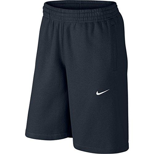Nike Club-Swoosh Pantaloni Corti, Dark Obsidian/White, L