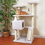 Petco Premium Tree Terrace for Cats, 28.7&quot; L X 35.8&quot; W X 58.6&quot; H