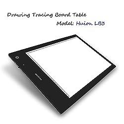 HUION LB3 A3 LED Light Pad _ Light Box