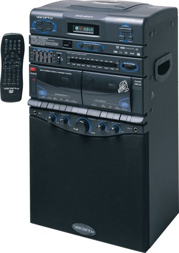 Read About VocoPro DVD-Duet 80W CD / Dual Cassette / AM / FM Karaoke System