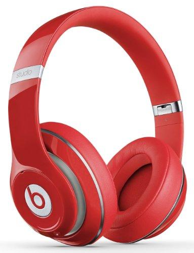 Beats by Dr. Dre Studio 2.0 Casque Audio Circum-Auriculaire - Rouge (Prise Anglaise)