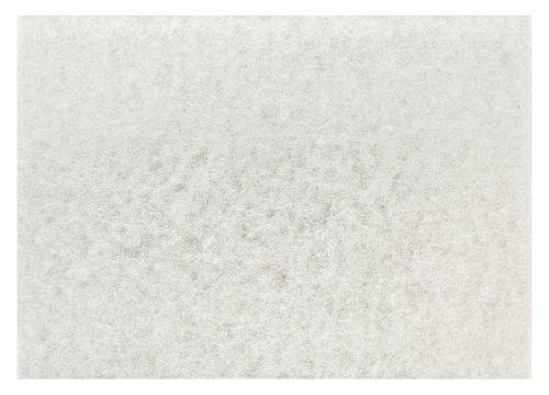 "3M White Super Polish Pad 4100, 32"" X 14"" (Case Of 10) front-445873"