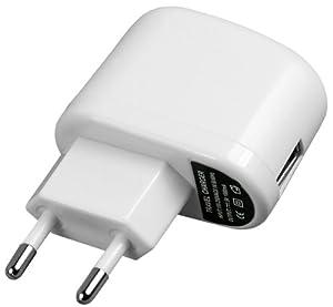 mumbi USB Ladegerät 1000mA einsetzbar als Netzteil / Ladekabel / Ladegerät - Ladeadapter 220V 1A 1 Ampere