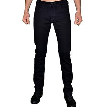 Levis - Jean - Homme - 511 Slim Fit Stretch Moonshine - Noir Noir - W30 L34