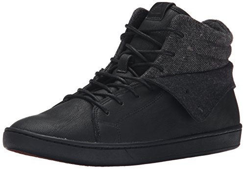 Aldo Men's Tancredi Fashion Sneaker, Black, 10.5 D US