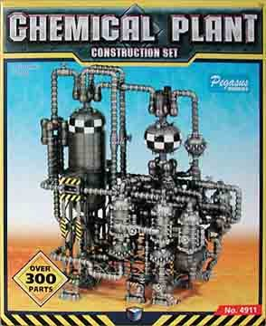 Pegasus Hobby Chemical Plant Construction Set