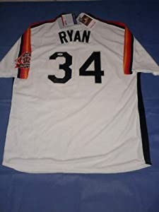 NOLAN RYAN Signed Astros Jersey HOF PSA DNA Autograph Rangers Mets Angels by Signed Jersey