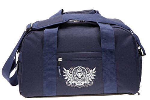 elephant-sporttasche-mit-schuhfach-nassfach-sport-tasche-trinkflasche-lowe-blau