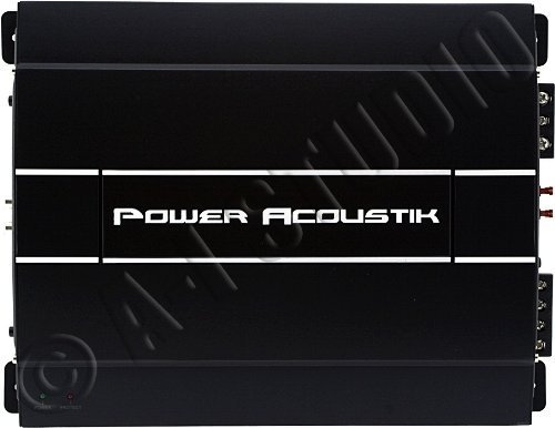 Power Acoustik Rep4-900 900 Watt Mosfet 4-Channel Amp With High And Low Level Inputs