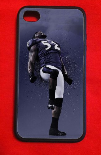 Ray Lewis Baltimore Ravens Iphone 4/4s Case P Picture