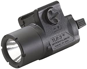 Streamlight 69220 TLR-3 Weapon Mounted Tactical Light with Rail Locating Keys by Streamlight