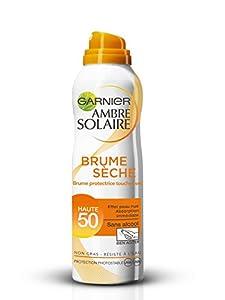 Garnier - Ambre Solaire Brume Sèche - Crème solaire  - FPS 50 Haute protection