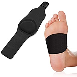 Plantar Fasciitis Arch Cushion and Support with Gel Therapy- Foot Sleeve for Heel Pain