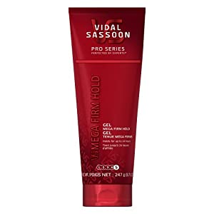 Vidal Sassoon Pro Series Mega Firm Hold Gel 8.71 Oz