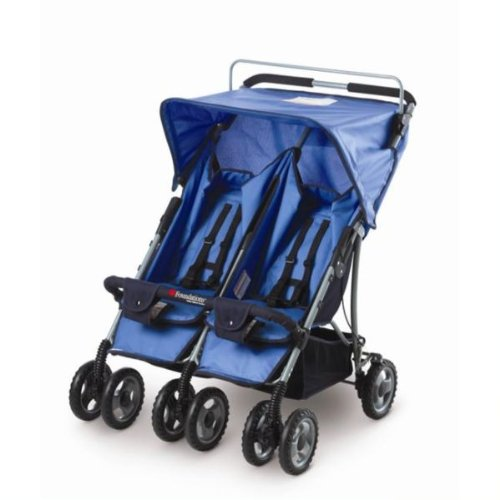 Foundations the Duo Ss Double Side By Side Folding Stroller