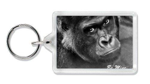 Be Mine! Gorilla Valentines Day Gift Keyring
