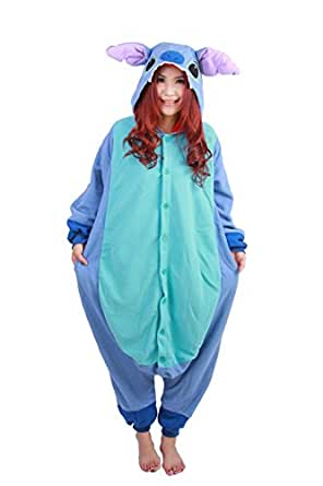 Pensan Cosplay Adult Unisex Animal Kigurumi Costume Pajamas Onesizes