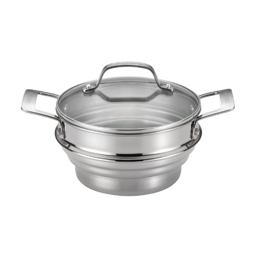 Circulon Stainless Steel Universal Steamer with Lid (Chinese Steamer compare prices)