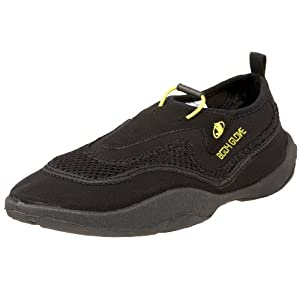 Body Glove Men's Riptide Water Shoe,Black/Yellow,9 M