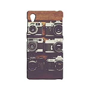 BLUEDIO Designer 3D Printed Back case cover for Sony Xperia Z1 - G3341