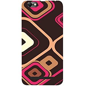 Casotec Retro Pattern Design 3D Printed Back Case Cover for Lenovo Vibe C A2020