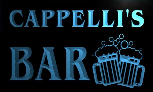 w022788-b-cappelli-name-home-bar-pub-beer-mugs-cheers-neon-light-sign