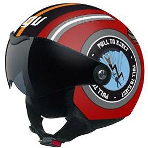 AGV Dragon Eagle Helmet - X-Large/Red