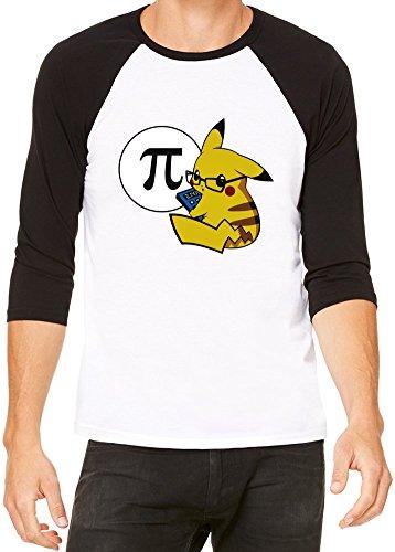 Pi-Kachu-Camiseta-beisbol-Unisex