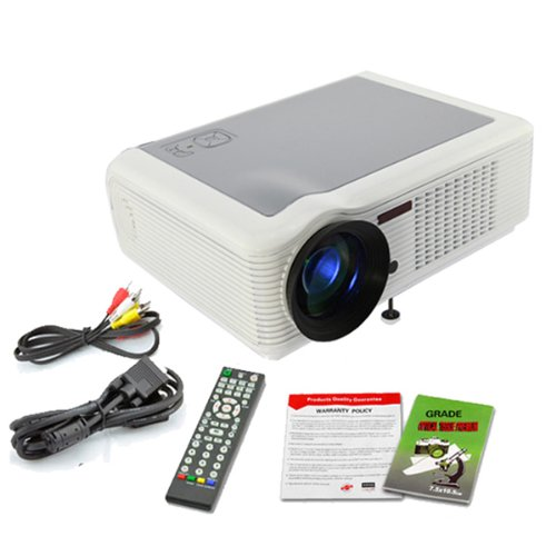 DB Power Original 1080P HD LED LAMP LCD Projector Home Theatre HDMI TV WII PS3 US STOCK at Sears.com