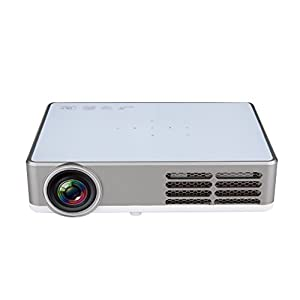 Excelvan 3000 lumens Portable DLP android 4.4 wifi Mini Full 3D HD Projector for Home Theater 1280*800 by Excelvan