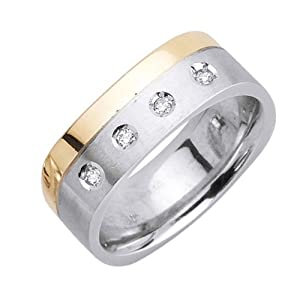 Best buy white diamonds platinum men 39 s for Best mens jewelry sites
