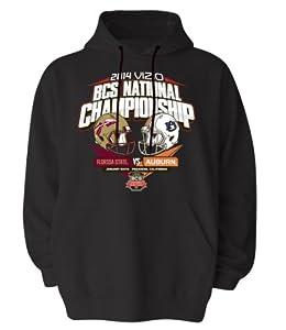 Florida State Vs Auburn Tigers 2014 National Champion Hooded Sweatshirt by Elite Fan Shop
