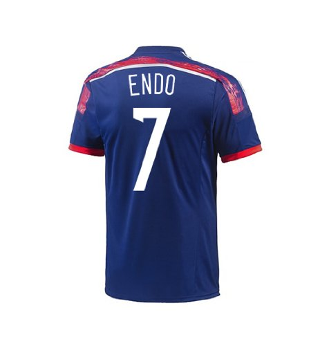 Adidas Endo #7 Japan Home Jersey World Cup 2014 Youth. (Ym)