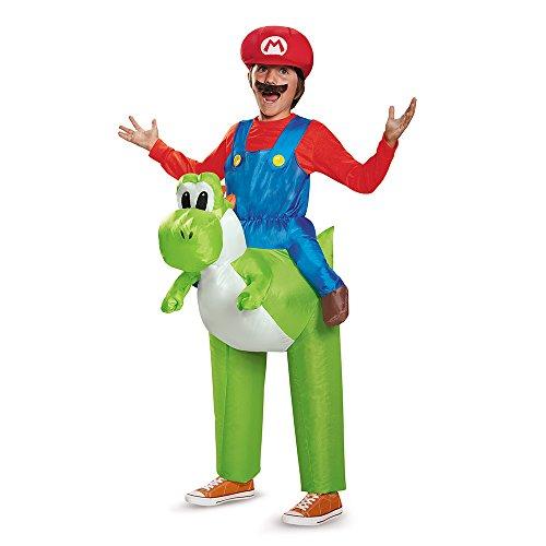 Disguise Mario Riding Yoshi Child Costume