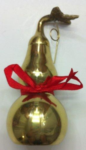 Feng Shui Brass Wu Lou Gourd 4