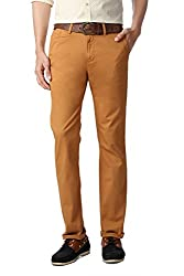 SF Jeans by Pantaloons Regular Fit Trouser_Mustard_32