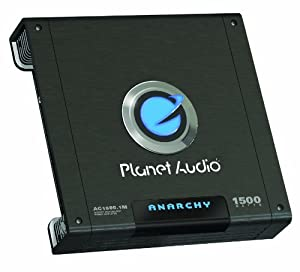 planet audio ac1500 1m anarchy 1500 watts monoblock class a b 1 channel 2 ohm stable amplifier. Black Bedroom Furniture Sets. Home Design Ideas