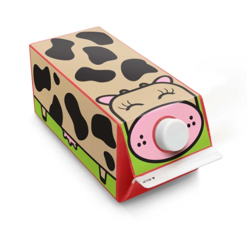 Box Play For Kids Cow Milk Carton Stickers