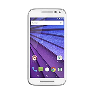 Motorola XT1540 Unlocked Moto G, 3rd Generation, Global GSM, 1 GB RAM, 8 GB (White)