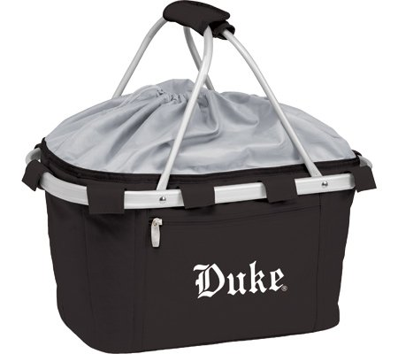 Duke Blue Devils Lightweight Insulated Metro Picnic Basket - Black w/Embroidery at Amazon.com