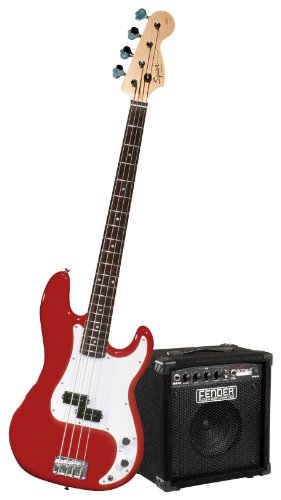 Squier Stop Dreaming-Start Playing Set: Affinity P Bass w/ Rumble 15