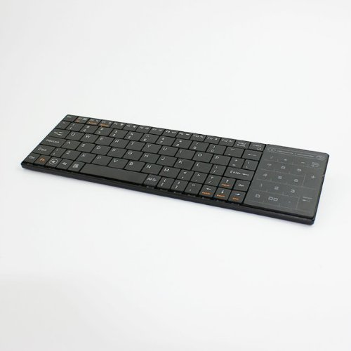 Newstyle Ultra-Thin Mini Wireless Bluetooth Keyboard With Dual Function Multi-Touch Pad And Numeric Keypad For Ios Android And Windows Pc Tablet